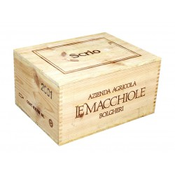 Scrio 2001 - Le Macchiole (caisse de 6 bout.)