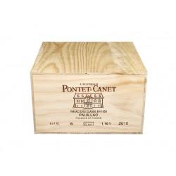 Château Pontet Canet 2010 (caisse de 6 mag.)