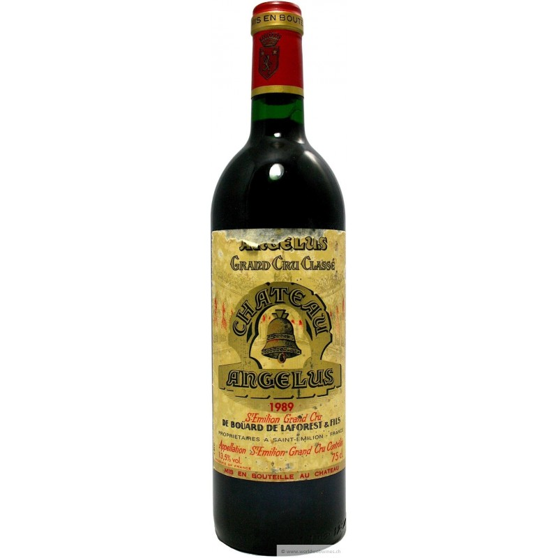 Ch teau ang lus 1989 buy first growth st emilion for Chateau angelus