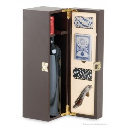 Brun wine case with one accessory - 1  bottle
