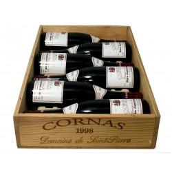 Cornas 1998 - domaine St Pierre, Jaboulet (CBO 6 bout.)