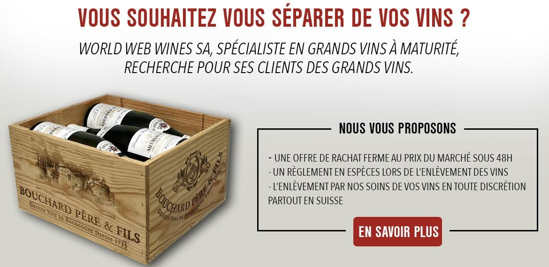 achat grands vins