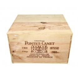 Château Pontet Canet 2003 (OWC 6 bot.)