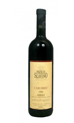 Barolo Carobric 1998 - Paolo Scavino