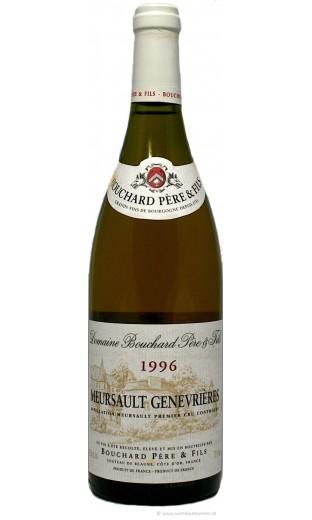 """Meursault """"Genevrières"""" 1996 - domaine Bouchard (CBO 6 bout.)"""