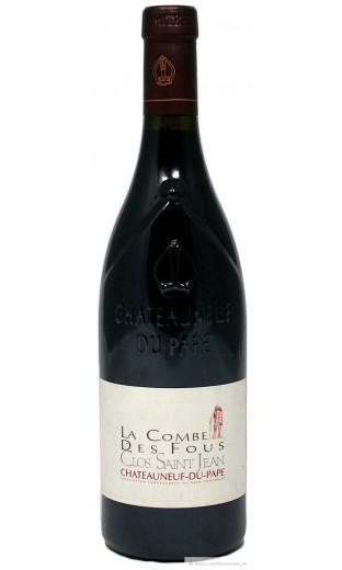 """CNP """"la combe des fous"""" 2009 - domaine Clos St Jean"""