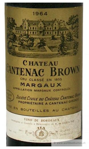 Château Cantenac Brown 1964