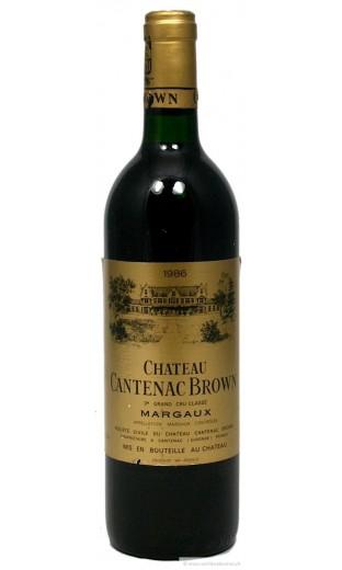 Château Cantenac Brown 1986