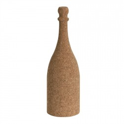solid cork lamp with LED and remote control light