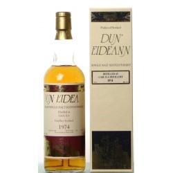 Caol Ila 23 years old, Dun Eideann 1974 (with its box)