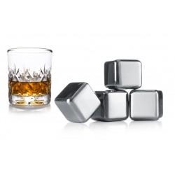 Pierre à whisky (lot de 4) - Vacu Vin