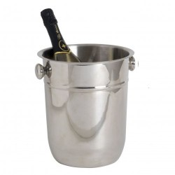 Inox champagne bucket for magnum