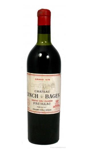 Château Lynch Bages 1952
