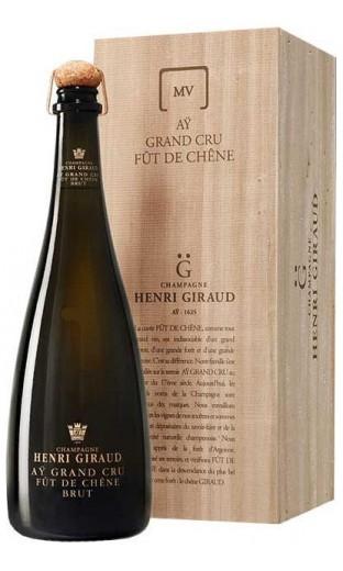 Henri Giraud MV13 Fut De Chene In Wooden Box