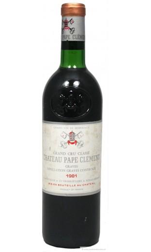 Château Pape Clément 1981