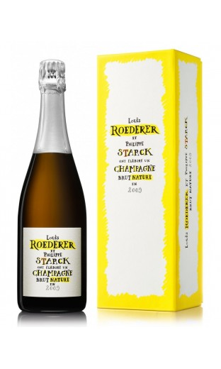 """Roederer Vintage 2009 Brut """"PHILIPPE STARCK"""" (with box)"""