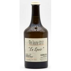 """Vin jaune """"en spois"""" 2012 - Domaine Tissot (62cl)"""