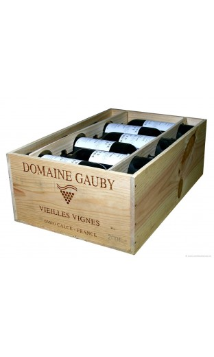 """Côtes du roussillon """"Vieilles Vignes"""" 2001 - domaine de Gauby (CBO 12 bout.)"""