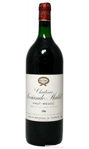 Château Sociando Mallet 1986 - magnum (1.5 l)
