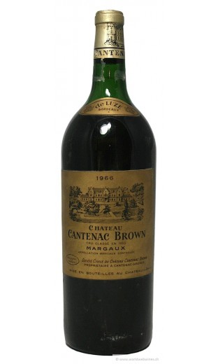 Château Cantenac Brown 1966 (magnum 1.5 l)