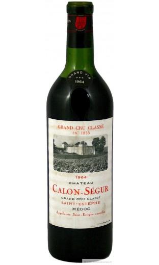 Château Calon Ségur 1964