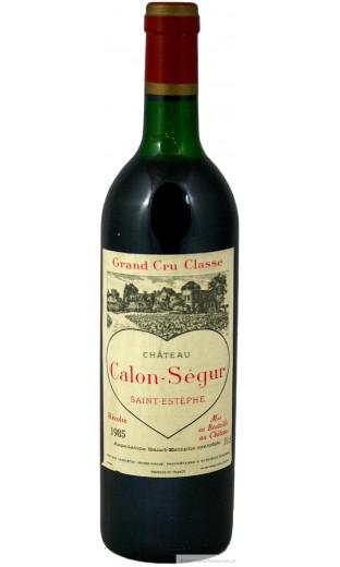 Château Calon Ségur 1985