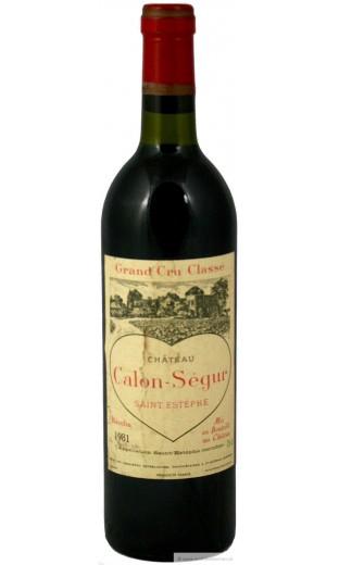 Château Calon Ségur 1981