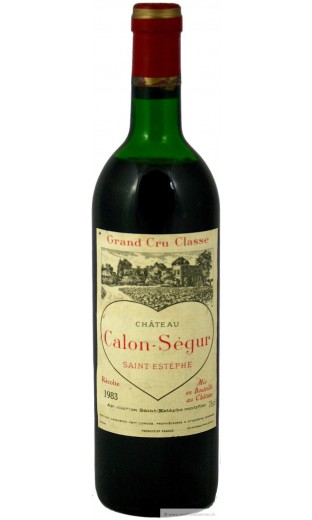Château Calon Ségur 1983