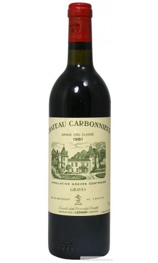 Château Carbonnieux 1981