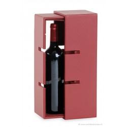 Coffret transformable en porte bouteille - 1 bout.