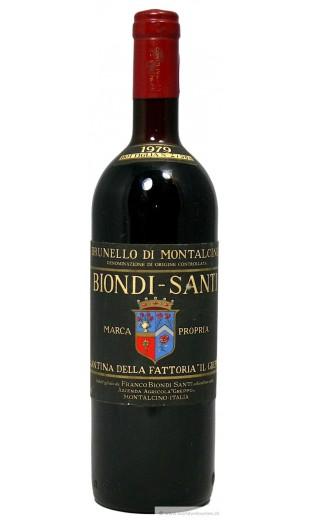 Brunello di Montalcino 1979 - Biondi Santi