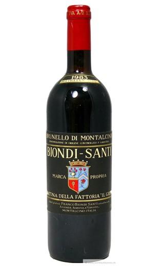 Brunello di Montalcino 1983 - Biondi Santi
