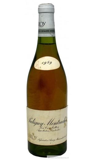 """Puligny Montrachet """"les Combettes"""" 1959 - Maison Leroy"""