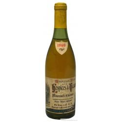 """Hospices de Beaunes Meursault Charmes 1969 """"Cuvée A. Grivault"""" - Maison Leroy"""
