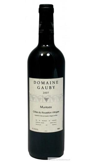 """Côtes du Roussillon """"la Muntada"""" 2007 - domaine de Gauby"""