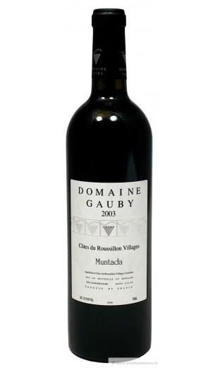 """Côtes du Roussillon """"la Muntada"""" 2003 - domaine de Gauby"""