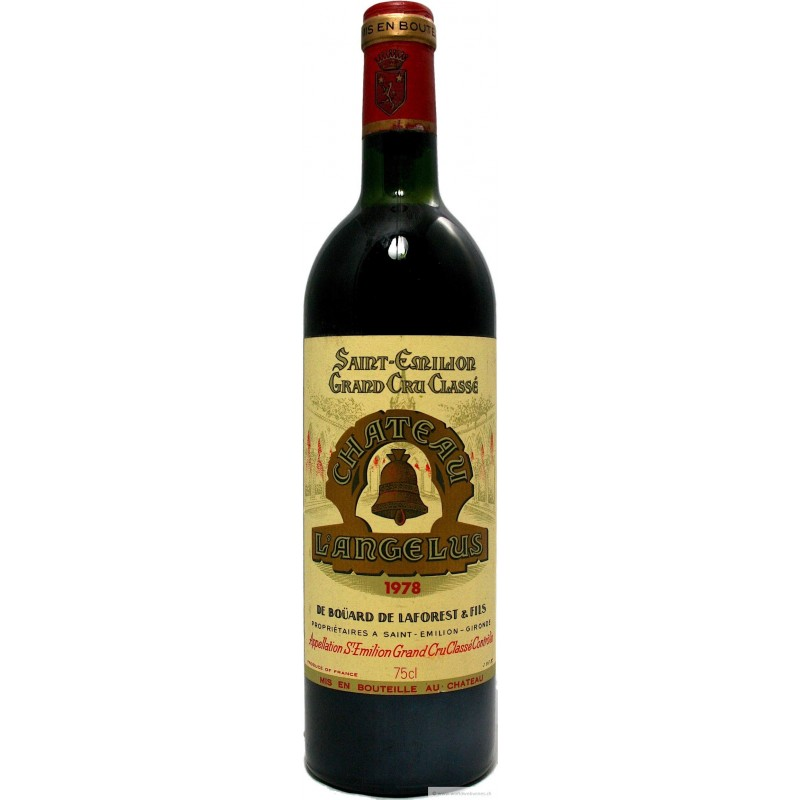 Ch teau ang lus 1978 buy bordeaux red wine first growth for Chateau angelus
