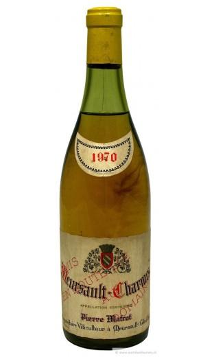 Meursault Charmes 1970 - domaine P. Matrot