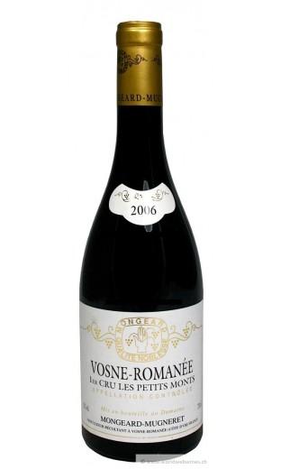 """Vosne Romanée 1er cru """"les petits monts"""" 2006 - domaine Mongeard-Mugneret"""