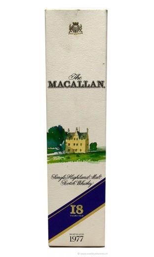 Macallan 1977 - 18 ans (avec coffret)