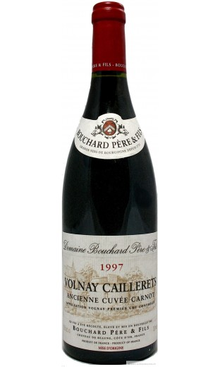 "Volnay ""ancienne cuvée Carnot"" 1997 - domaine Bouchard"