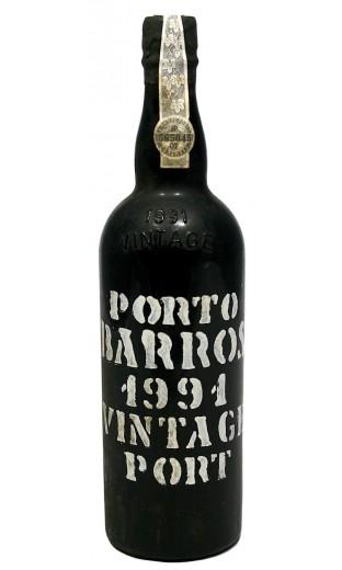 """Porto """"Vintage Port"""" 1991 - Barros"""