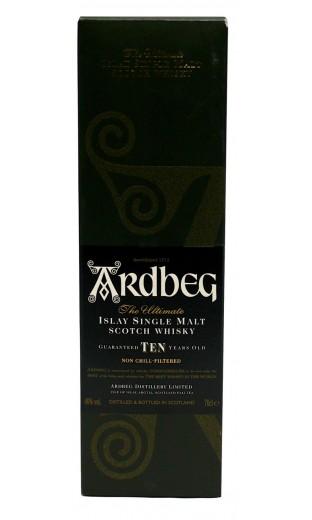 Ardberg 10 ans (avec coffret)