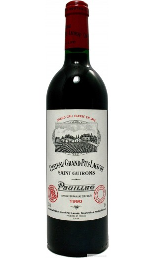 Château Grand Puy Lacoste 1990