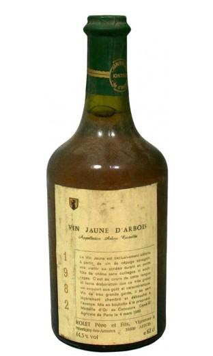 Arbois Vin Jaune 1982 - domaine Rolet Pere & Fils