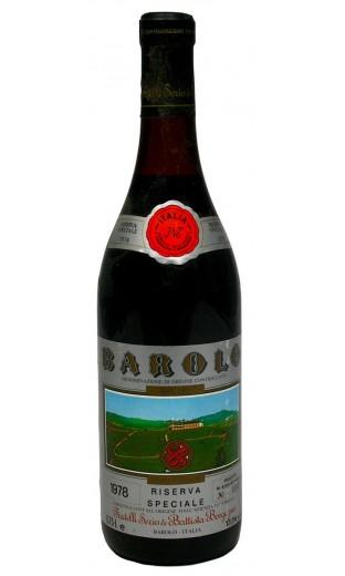 Barolo Riserva Speciale 1978 - Fratelli Serio & Battista Borgogno