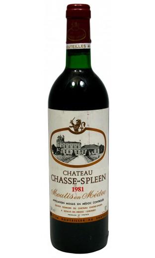 Château Chasse Spleen 1981