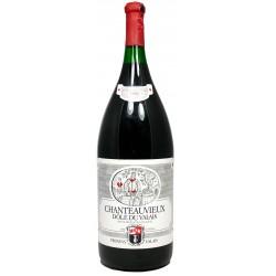 """Chanteauvieux """"capsule dorée""""1986 - Dôle du Valais Provins (6 l)"""