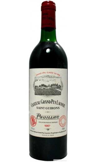 Château Grand Puy Lacoste 1987