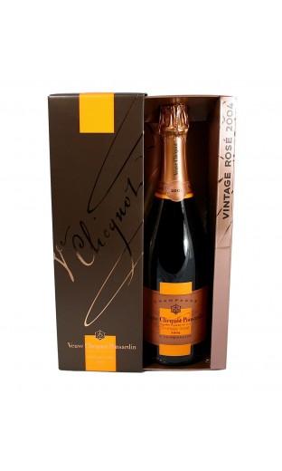 Veuve Clicquot rosé 2004 (coffret)
